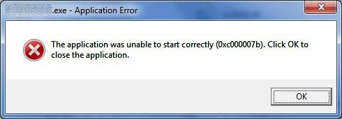 0xc00007b error combotech.rar